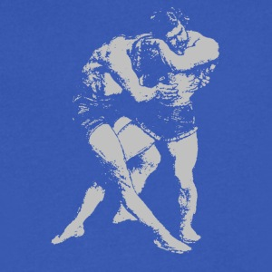 Old Wrestling Sport - Men's V-Neck T-Shirt by Canvas