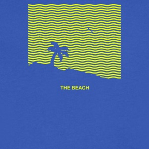 The Neighbourhood The Beach 2017 - Men's V-Neck T-Shirt by Canvas