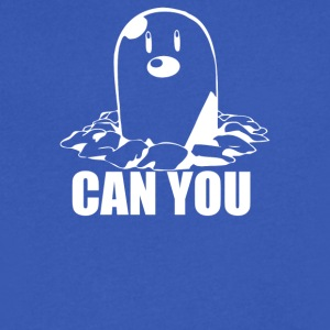 Can You Dig - Men's V-Neck T-Shirt by Canvas