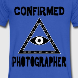 Confirmed Photographer - Men's V-Neck T-Shirt by Canvas