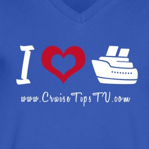 I love to cruise! - Men's V-Neck T-Shirt by Canvas