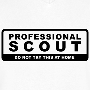 Professional scout - Men's V-Neck T-Shirt by Canvas