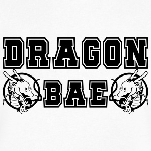 DRAGON BAE - Men's V-Neck T-Shirt by Canvas
