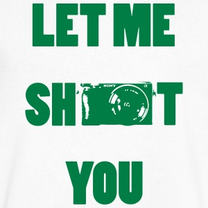 Let me shoot you - Men's V-Neck T-Shirt by Canvas