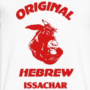 ISSACHAR - Men's V-Neck T-Shirt by Canvas