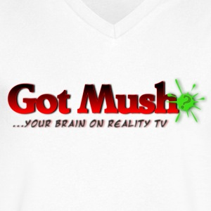Got Mush? ...your brain on reality tv - Men's V-Neck T-Shirt by Canvas