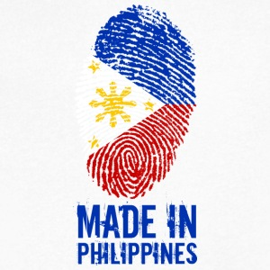 Made In Philippines / Pilipinas - Men's V-Neck T-Shirt by Canvas