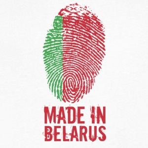 Made In Belarus / Беларусь - Men's V-Neck T-Shirt by Canvas