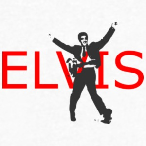 elvis - Men's V-Neck T-Shirt by Canvas