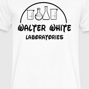 WALTER LABS - Men's V-Neck T-Shirt by Canvas