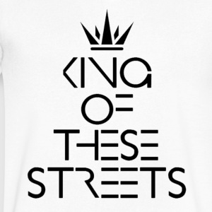 MOCC King Of These Streets - Men's V-Neck T-Shirt by Canvas