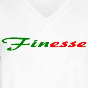 Finesse - Men's V-Neck T-Shirt by Canvas