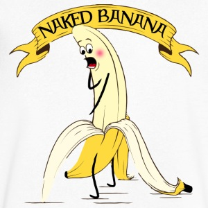 Naked Banana - Men's V-Neck T-Shirt by Canvas