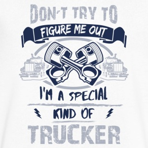 Trucker - Men's V-Neck T-Shirt by Canvas