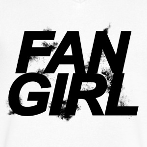 Teen Wolf - Fangirl - Men's V-Neck T-Shirt by Canvas