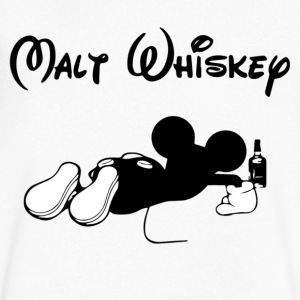 Malt Whis - Men's V-Neck T-Shirt by Canvas