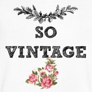 SO VINTAGE - Men's V-Neck T-Shirt by Canvas