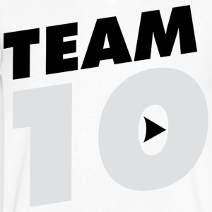 TEAM 10 TEN YouTube - Men's V-Neck T-Shirt by Canvas