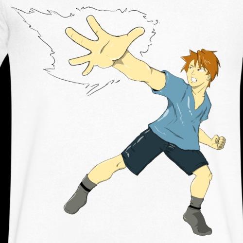 Imagine Power - Men's V-Neck T-Shirt by Canvas