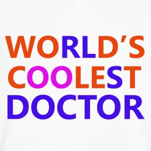 doctor designs - Men's V-Neck T-Shirt by Canvas