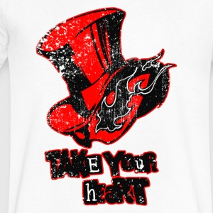 Persona 5 P5 - Men's V-Neck T-Shirt by Canvas