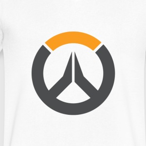 overwatch logo - Men's V-Neck T-Shirt by Canvas
