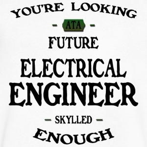 Electrical Engineer future - Men's V-Neck T-Shirt by Canvas