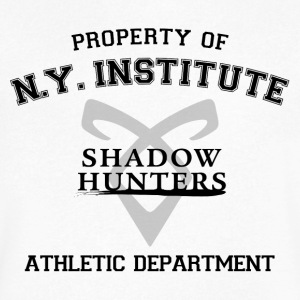 Shadowhunters - Property Of The New York Institute - Men's V-Neck T-Shirt by Canvas