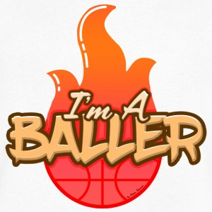 I'm A Baller - Men's V-Neck T-Shirt by Canvas