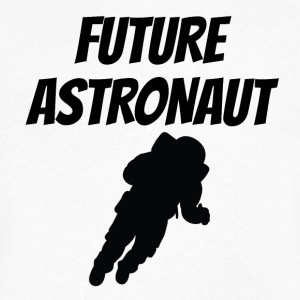 Future Astronaut - Men's V-Neck T-Shirt by Canvas