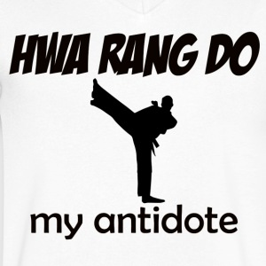 Hwa_Rang_Do design - Men's V-Neck T-Shirt by Canvas