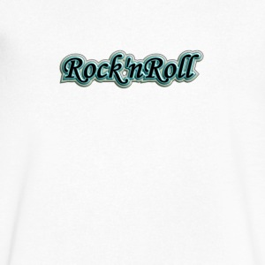 Vintage Rocknroll - Men's V-Neck T-Shirt by Canvas