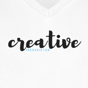 Creative Fredericton Magazine - Men's V-Neck T-Shirt by Canvas