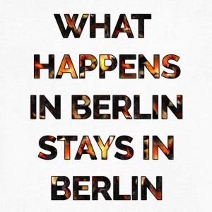 WHAT HAPPENS IN BERLIN STAYS IN BERLIN - Men's V-Neck T-Shirt by Canvas