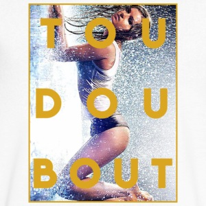 tou dou bout girl - Men's V-Neck T-Shirt by Canvas