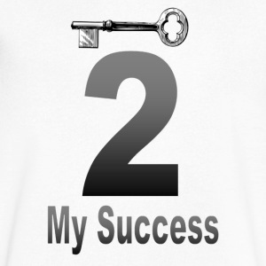 The key to my success - Men's V-Neck T-Shirt by Canvas