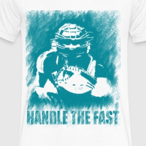 handle the fast - Men's V-Neck T-Shirt by Canvas