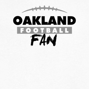 Oakland Football Fan - Men's V-Neck T-Shirt by Canvas