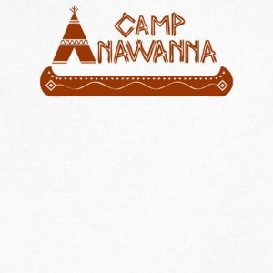 Camp Anawanna - Men's V-Neck T-Shirt by Canvas