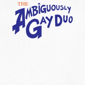 The Ambiguously Gay Duo - Men's V-Neck T-Shirt by Canvas