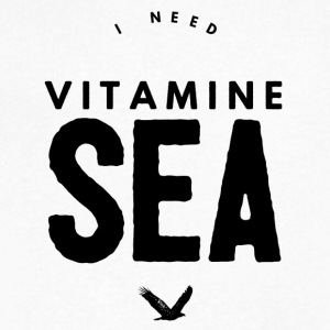 VitamineSEA - Men's V-Neck T-Shirt by Canvas