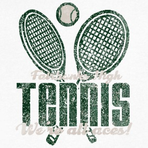 Fairbanks High Tennis We re All Aces - Men's V-Neck T-Shirt by Canvas