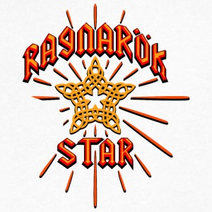 Ragnarok Star - Men's V-Neck T-Shirt by Canvas