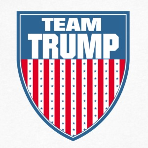 Team Trump - Men's V-Neck T-Shirt by Canvas