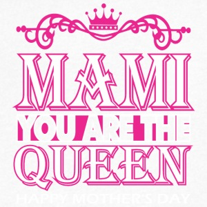 Mami You Are The Queen Happy Mothers Day - Men's V-Neck T-Shirt by Canvas