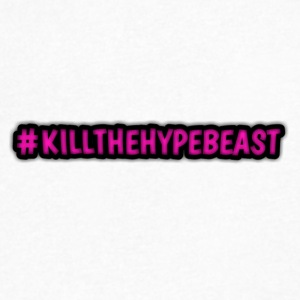 #killthehypebeast - Men's V-Neck T-Shirt by Canvas
