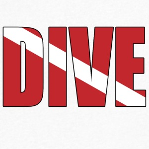Dive - Men's V-Neck T-Shirt by Canvas