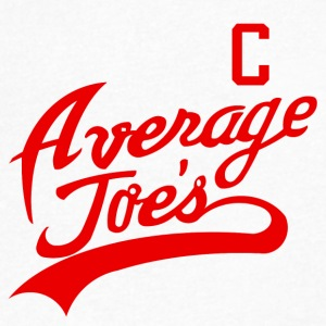 Average Joes - Men's V-Neck T-Shirt by Canvas