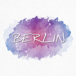 Berlin - Men's V-Neck T-Shirt by Canvas