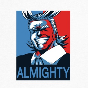 ALL MIGHT - Men's V-Neck T-Shirt by Canvas